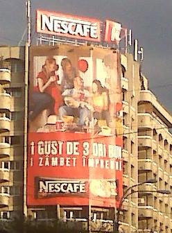 Advertising Space: El paisaje urbano de Bucarest