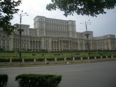 Casa Poporului: El Palacio del Parlamento