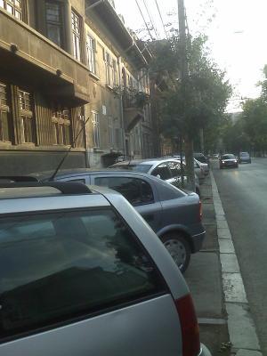 Aparcar en Bucarest...O caminar en Bucarest?