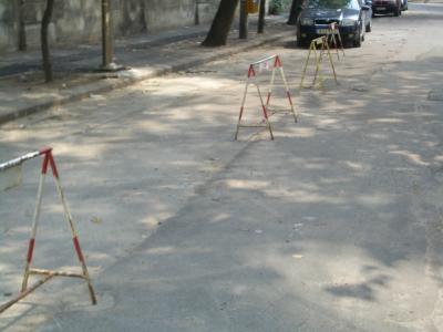 Las vallitas y los aparcamientos