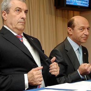 Basescu, Tariceanu y el salario de los profesores en Rumania